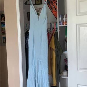 Dresses & Skirts - Baby Blue Prom Dress
